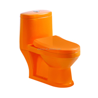 Cheap price child toilet colorful one piece kids toilet washdown wc toilet