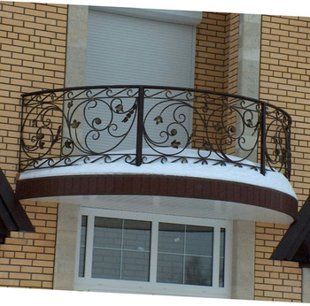 Wrought Iron Railing Design For Balcony Outdoor Buy Wrought Iron