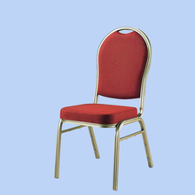 INDIA GOOD SELLING HOTEL BANQUET WEDDING STACKING ALUMINUM CHAIR YD-016