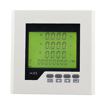 ME-3D2Y Frame Size120*120mm LCD Display Mini Digital Panel Meter, can measure voltage or ampere