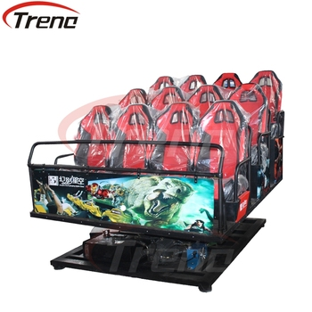 Factory Price New Business Projects 7D Movie Theater amusement motion cinema roller coaster simulator