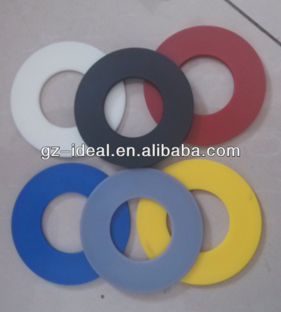 black Nylon flat washer
