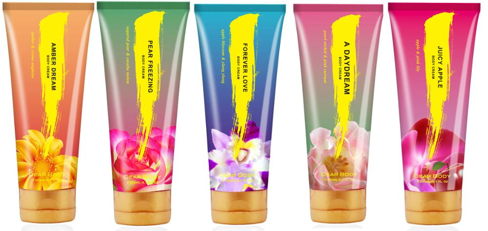 brand named Cheap price perfumed body cream for ladies