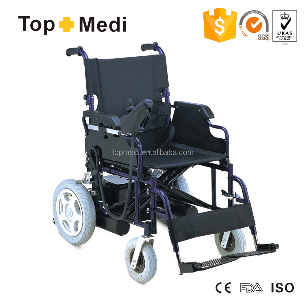 Topmedi e power electric wheelchair with brushless motor