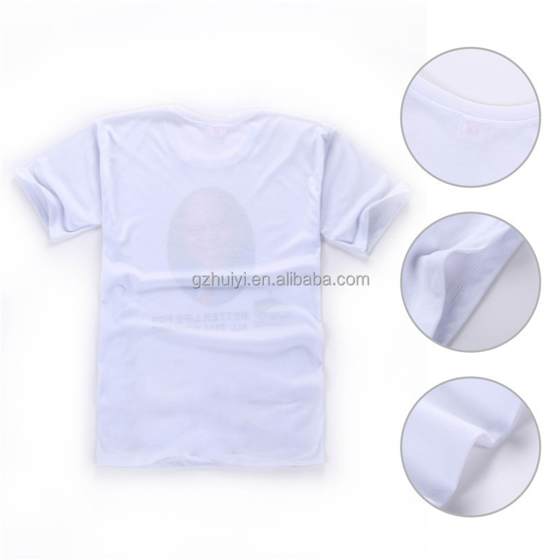 Custom cheap campaign round neck t shirts