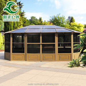 China Manufacturer hard top wind resistant gazebo weights