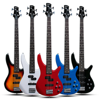Factory wholesale OEM/ODM 4 String Rosewood Electric Bass Guitar