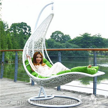 Outdoor Wholesale Cheap Hanging Chair Swing Sets Garden Swing Bed