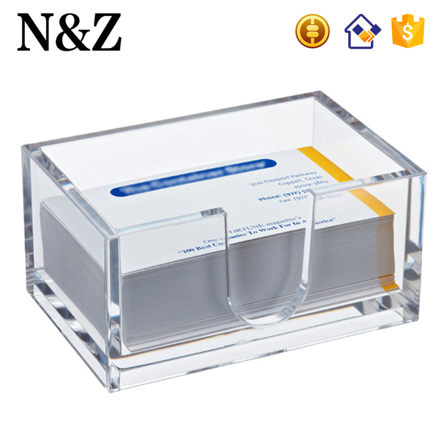 China business card display and holder wholesale alibaba nz m32 small desktop name card display clear plastic acrylic business card holder colourmoves