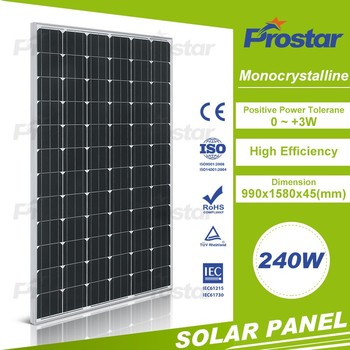 240w mono crystalline solar cell with tabbing wire for diy solar module