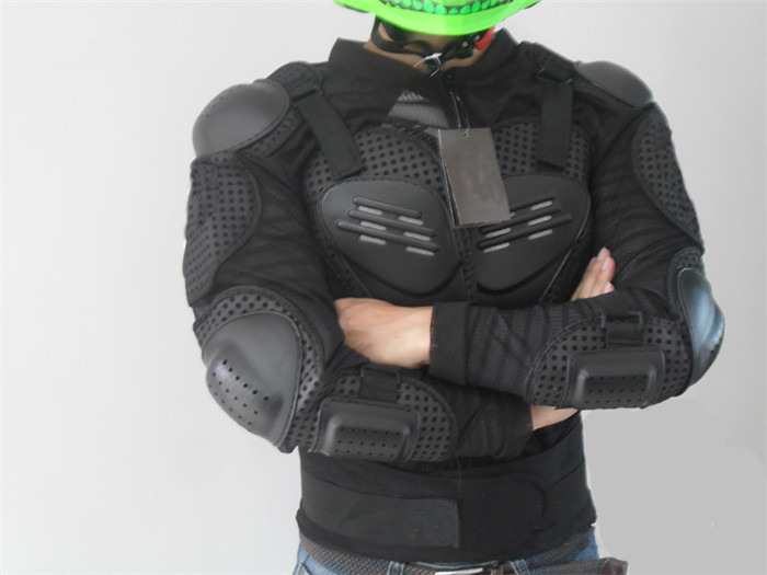 Protective Leather Motorcycle Armor Jacket Motorcycle