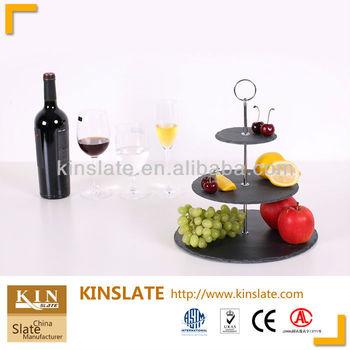 slate tableware 3 tier slate cake stand  sc 1 st  Jiujiang Kinslate Co. Ltd. - Alibaba & slate tableware 3 tier slate cake stand View slate cake stand ...