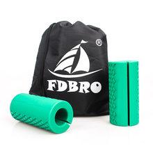 FDBRO 1 пара Штанги Гантели для штанги толстые ручки для штанги для тяжелой атлетики противоскользящие защитные накладки(China)