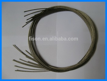 316l High Quality Stainless Steel Cable Wire Rope 7x7 2.5mm - Buy ...