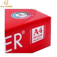 Hot Sale Top Grade 100% Wood Pulp JK A4 Copy Paper 80gsm