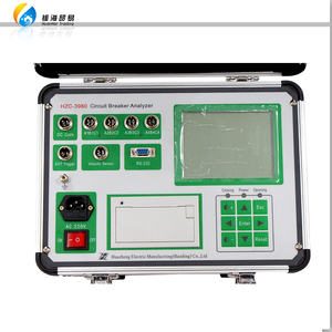 HZC-3980 High voltage switch dynamic characteristics circuit breaker testing instrument