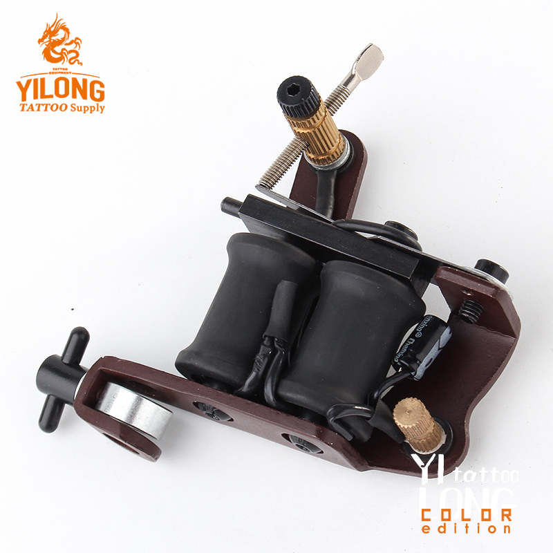Yilong Iron Tattoo Machine Used for Lined and Shader Steel Coil Tattoo Machine