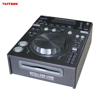 TOp selling Professional DJ CD Player Compatible with CD,USB,SD,Mp3 , ID3 TAG for background music system controller home audio