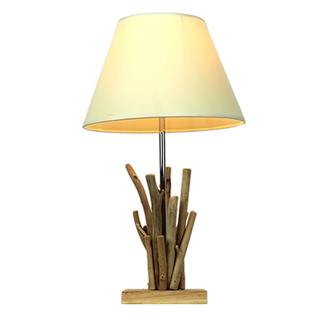 Tree Branch Table Lamp With Tc Fabric Shade Buy Branch Table