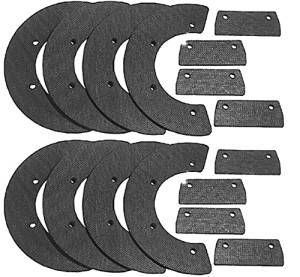 Oregon (2 Pack) 73-006 Snow Thrower 8-Pc Paddle Set Replaces Honda 72521-730-003