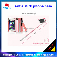phone case with bluetooth selfie stick for iphone 6sp phone case mobile