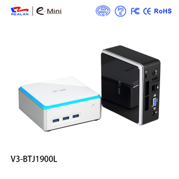 A cheap China cabinet computer celeron J1900 linux fanless mini pc with dual lan