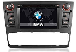 Auto air-conditioner+heated seat car DVD player GPS Navigation for BMW E90 (2005 -2011), BMW E91 (2005-2011), BMW E92 (2005-2011) 3 Series with touch screen/Bluetooth/Can Bus/Ipod/Steering wheel control