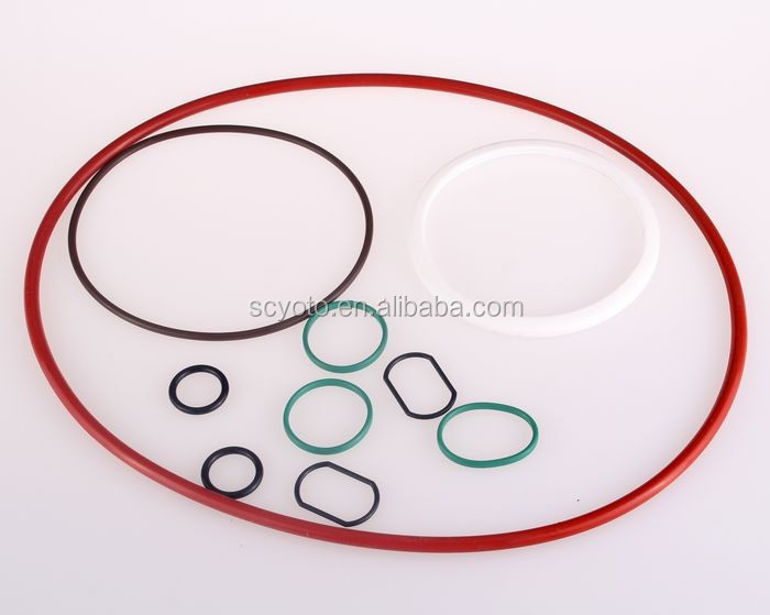 High-performance rubber o-ring flat washers/gaskets