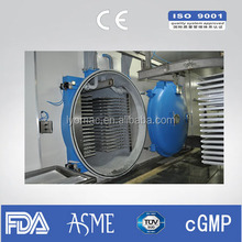 700kg Industrial fruit freeze dryer/Lyophilizer/Freeze Drying Machine