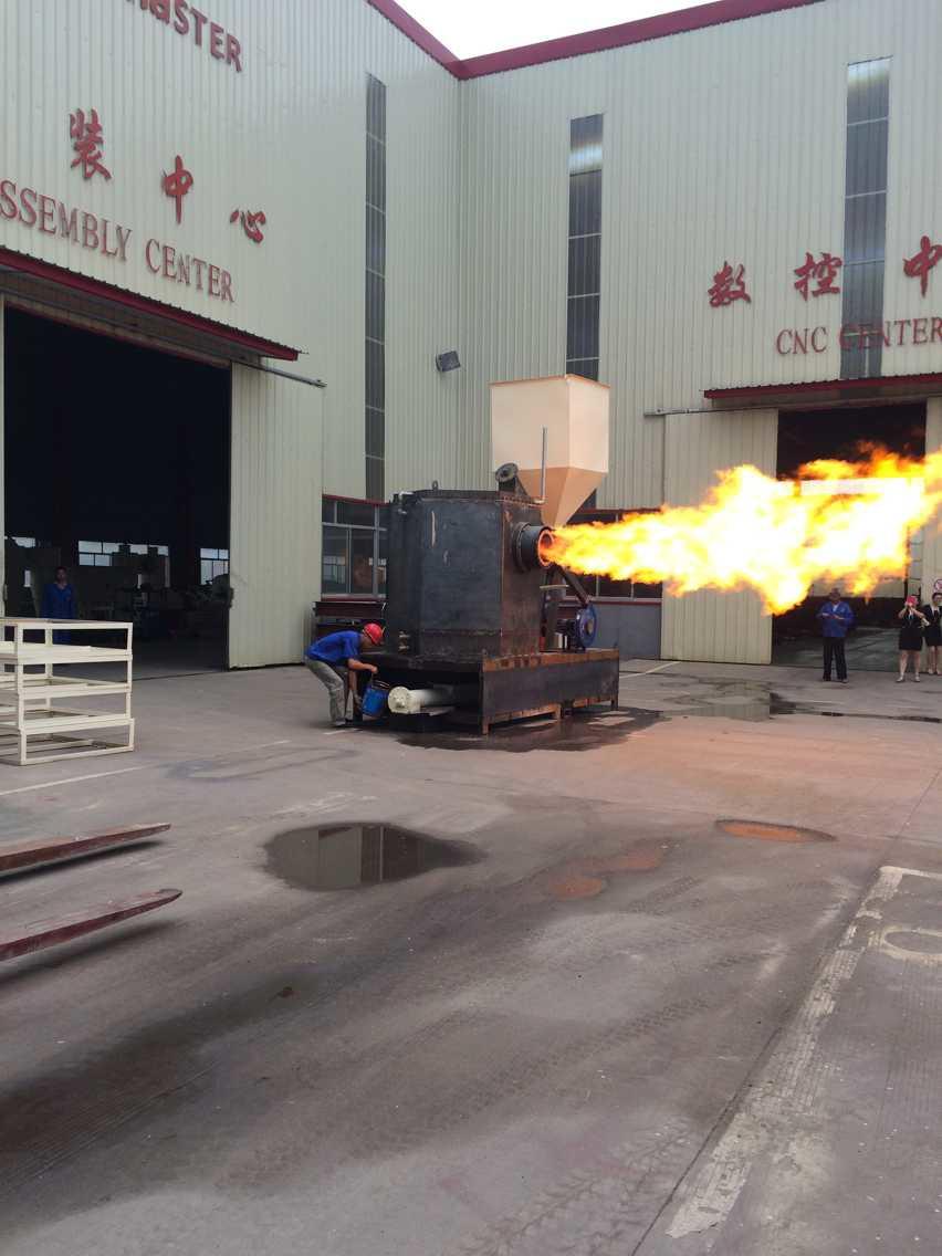 China supplier biomass wood pellet burner for heating