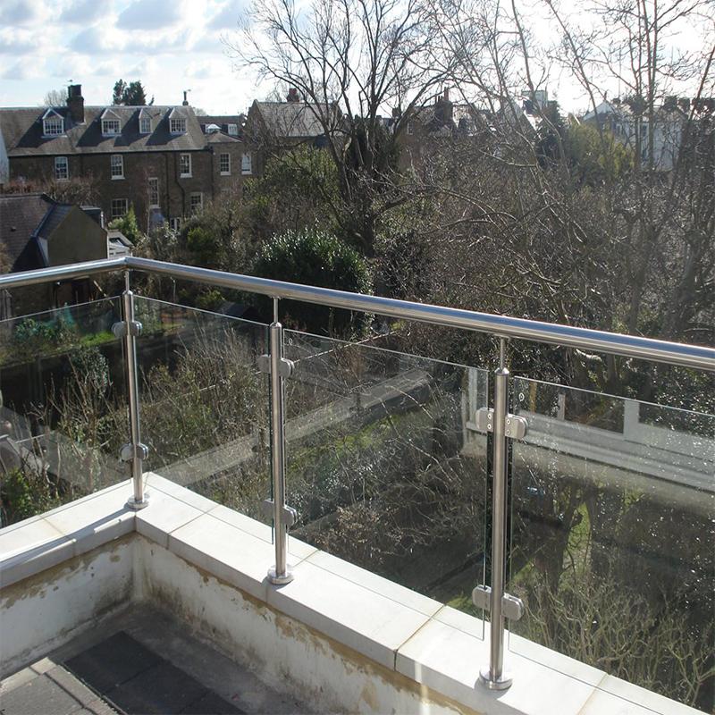 Deck Railing Design Bulstrade Handrail Simple Tubular ...