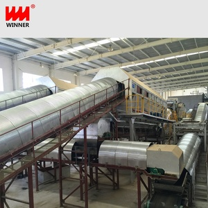 Urban life industrial waste recycling plant garbage processing system