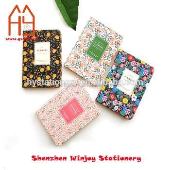 Kawaii Papeterie A5 Cahier Relie Fleur Calendrier Livre Journal Planificateur Hebdomadaire Buy Cahier Relie Carnet De Notes Papeterie Kawaii Product