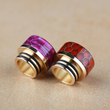 View drip tips for tfv8/tfv12 vaper mod stab wood bottom feeder 810 tip vape tfv12 tank