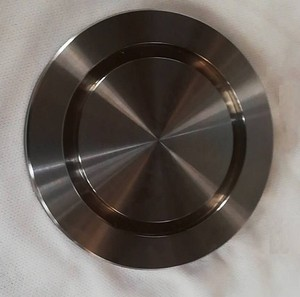 Aluminum SS paddle pipe weld neck slip blind blanks flange vacuum Sanitary pipe end cap