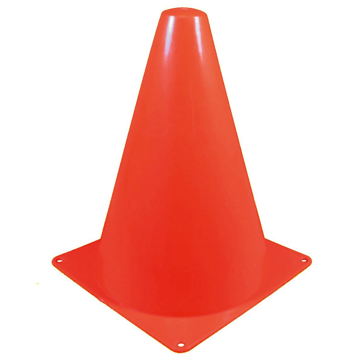 "SODIAL(R) 7"" Marker Cones Course/Football & Soccer Track Cones ( 10pcs /set) Red"