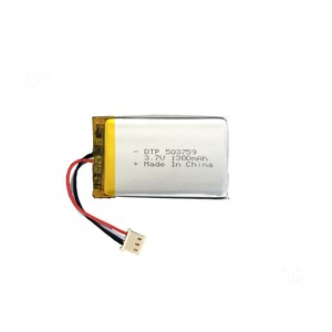 Lithium polymer battery 3 wires lipo battery li-polymer with NTC