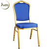 Manufacturer Metal Fabric Stacking Hotel Dining Banquet chair Wholesale(HM-S56)