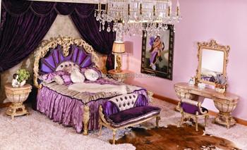 Bisini French Louis Wood Carving Bedroom Furniture/antique ...