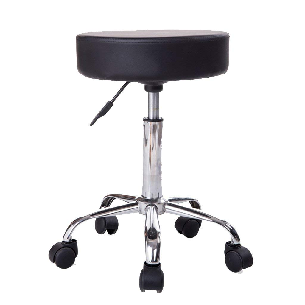 Wei Hong Home Office chair Swivel chair Lifting stool Beauty stool Bar stool (Color : Black, Size : 35952cm)