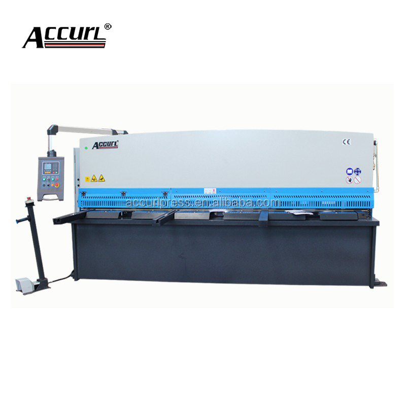 China Accurl thin metal plate 10mm thickness shearing <strong>machine</strong> with ISO&CE certification