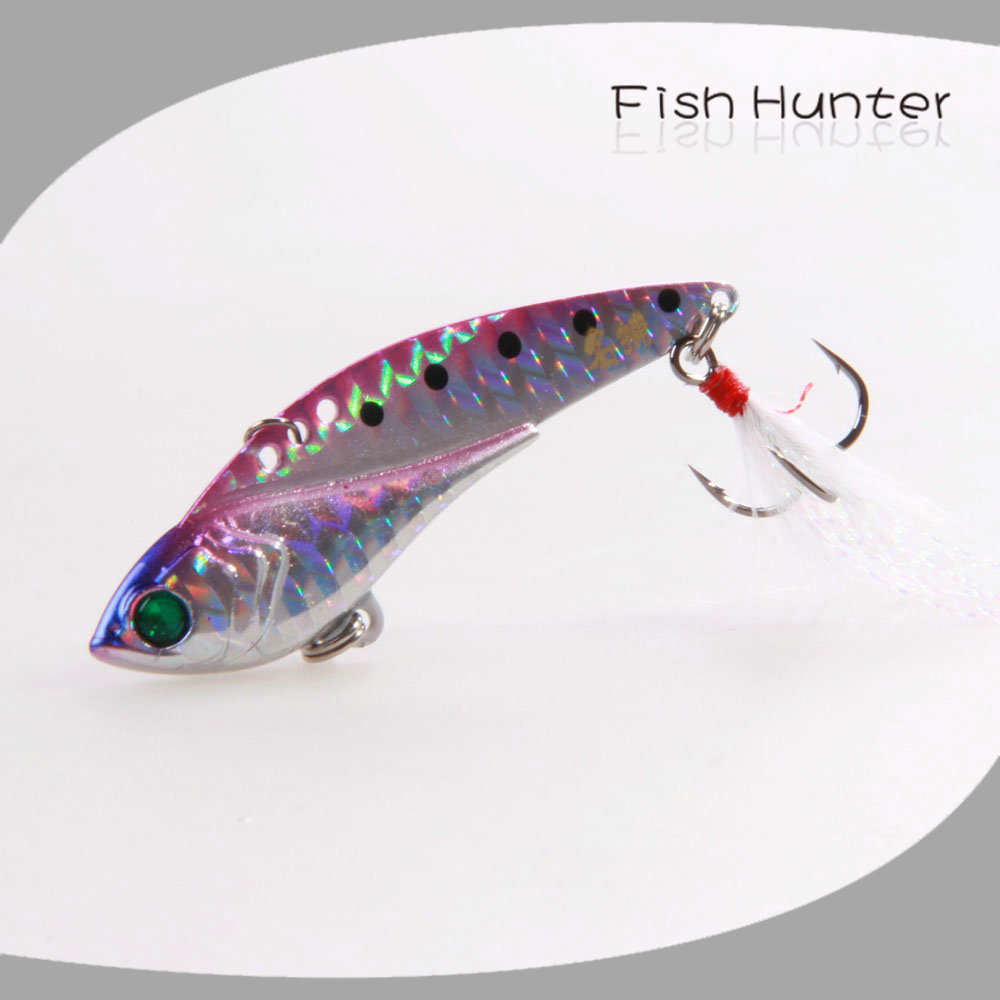 China Wholesale Fishing Lures Mv04c Vib 60mm 14g Feather