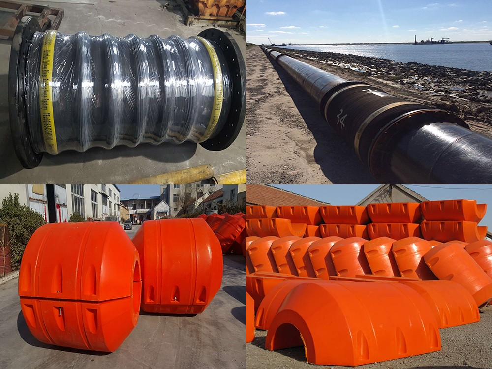 OCEAN PUMP dredge floater/ light weight floating body for Sand dredger pipeline