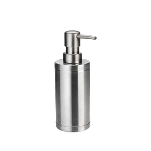 Best seller household stainless steel toilet brush soap dispenser tumbler 3 pcs bathroom accessories set