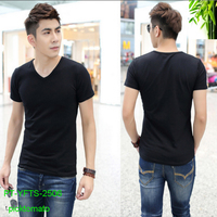 high quality good price blank bamboo t shirt for men NO 2506