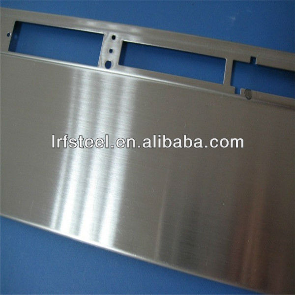 SUS304 Stainless Steel Sheet Satin Hairline Finish