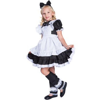 Hot Sale Girl French Cosplay Maid Costumes Waitress Costumes Uniform For Kids  sc 1 st  Alibaba & Hot Sale Girl French Cosplay Maid Costumes Waitress Costumes Uniform ...