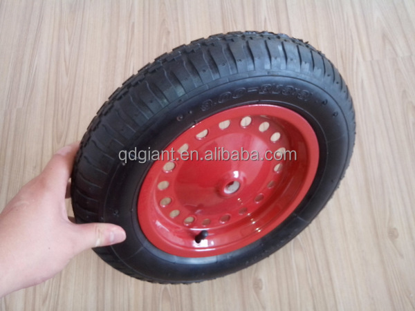 wheel barrow inflatable tire and tube 3.25/3.00-8