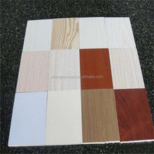 12mm E1 grade cabinet use plywood /colorful melamine paper lamited plywood