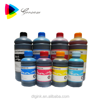 Eco Solvent Ink For Epson Stylus Pro 4880 7880 9880 Wide Format Printer -  Buy Eco Solvent Ink For Epson,Solvent Ink,Eco Solvent Ink Product on